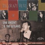 "10""✦GENE VINCENT & THE OUTLAWS✦""The Crazy Beat Of"" The Saturday Club Radio Show"